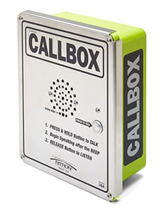 XT Series 2-Way Radio Callbox Communication Device